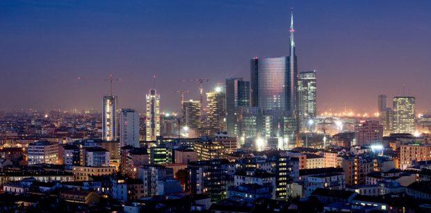 skyline milan Italy