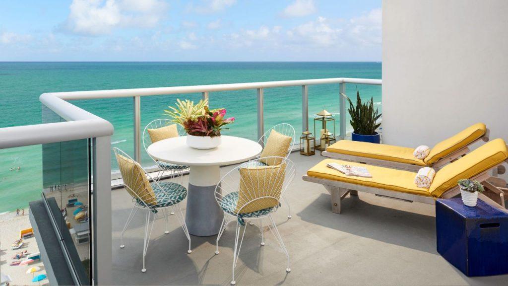 The-Confidante-Miami-Beach Oceanfront view